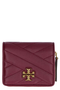 Kira quilted leather wallet, Wallets Tory Burch woman