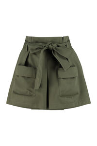 Belted short-skirt, Shorts Red Valentino woman
