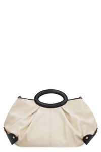 Leather handbag, Top handle Marni woman