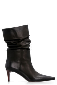Leather ankle boots, Ankle Boots Hazy woman