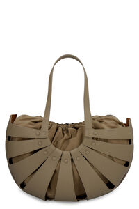 The Shell leather shoulder bag, Tote bags Bottega Veneta woman