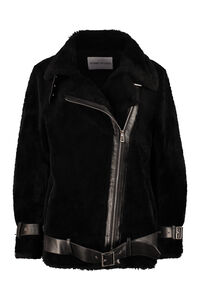 Colleen faux fur biker jacket, Faux Fur and Shearling Stand Studio woman