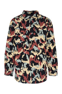 Printed cotton overshirt, Bomber jackets 424 man
