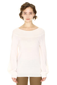 Cashmere and wool knit, Crew neck sweaters Parosh woman