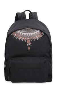 Printed nylon backpack, Backpack Marcelo Burlon County of Milan man