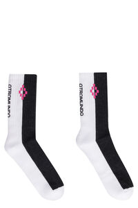 Cotton sport socks, Socks Marcelo Burlon County of Milan man