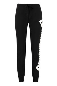 Logo detail cotton track-pants, Track Pants Love Moschino woman