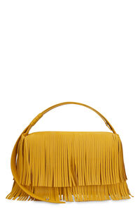 Puffin fringed vegan leather bag, Top handle Simon Miller woman