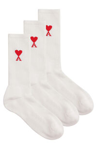 Set of three socks, Socks AMI PARIS man