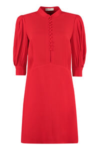 Mandarin shirt collar dress, Mini dresses Givenchy woman