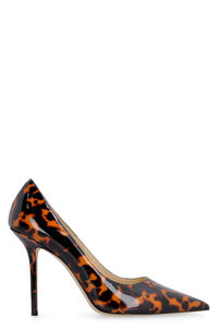 Love printed patent leather pointy-toe pumps, Pumps Jimmy Choo woman