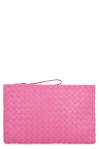 Intrecciato Nappa flat pouch, A lifetime of unbeatable style Bottega Veneta man