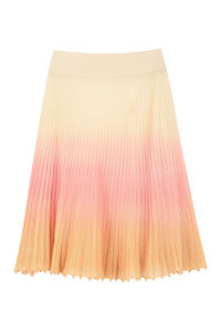 Ribbed knit skirt, Pleated skirts Jacquemus woman