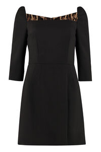 Virgin wool dress, Mini dresses Dolce & Gabbana woman