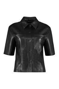 Sabine vegan leather shirt, Shirts Nanushka woman