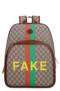 GG supreme fabric backpack, Backpack Gucci man