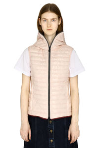 Hooded bodywarmer jacket, Vests and Gilets Duvetica woman