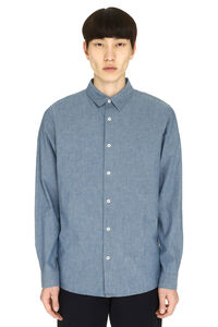 Hector Oxford cotton shirt, Plain Shirts A.P.C. man