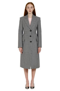 Single-breasted wool coat, Long Lenght Coats Alexander McQueen woman