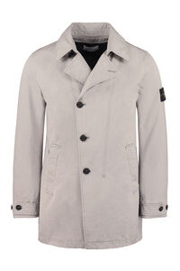 Short trench coat, Raincoats And Windbreaker Stone Island man