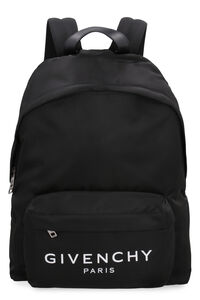 Logo print nylon backpack, Backpack Givenchy man