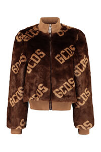 Faux fur bomber jacket, Faux Fur and Shearling GCDS woman