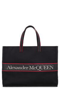 Canvas tote bag, Totes Alexander McQueen man