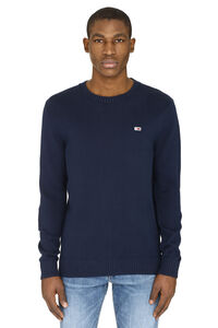 Long-sleeved crew-neck sweater, Crew necks sweaters Tommy Jeans man