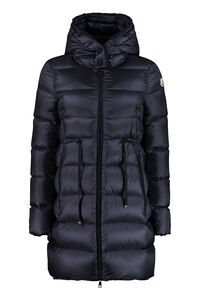 Bannec long hooded down jacket, Down Jackets Moncler woman