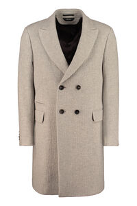 Double-breasted wool and cashmere coat, Overcoats Z Zegna man