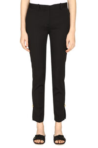 Decorative pin tailored trousers, Trousers suits Versace woman