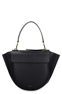 Hortensia leather handbag, Top handle Wandler woman