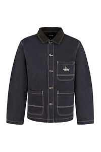 Cotton shirt-jacket, Denim jackets Stüssy man