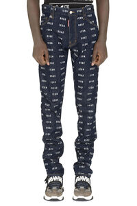 Printed Cool Guy jeans, Slim jeans Dsquared2 man