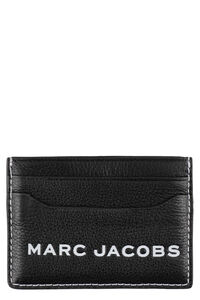 The Textured Tag leather card holder, Wallets Marc Jacobs woman