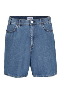 Bernie cotton denim bermuda-shorts, Shorts Amish man
