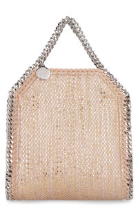 Tiny Falabella woven chenille tote bag, Top handle Stella McCartney woman