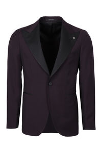 Wool-mohair blazer, Single breasted blazers Tagliatore man