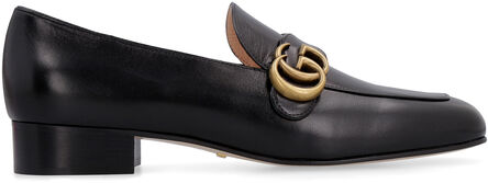 Leather loafers, Loafers Gucci woman