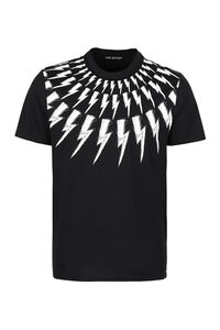 Printed cotton T-shirt, Short sleeve t-shirts Neil Barrett man