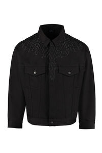 Denim jacket, Denim jackets Marcelo Burlon County of Milan man