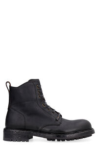 Leather lace-up boots, Lace-up boots Dolce & Gabbana man