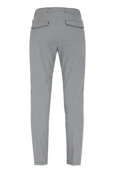 Prince checked chino trousers