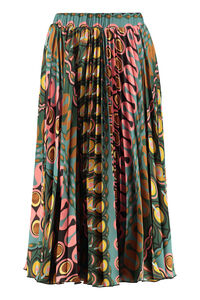 Soleil printed pleated skirt, Pleated skirts La DoubleJ woman