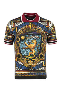Short-sleeve cotton polo shirt, Short sleeve polo shirts Dolce & Gabbana man