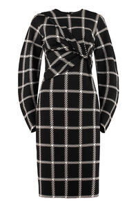 Checked knitdress, Printed dresses Stella McCartney woman