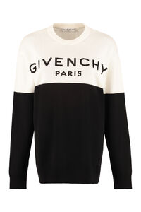 Intarsia cashmere sweater, Crew neck sweaters Givenchy woman