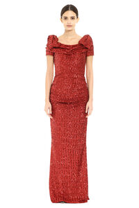 Sequin long dress, Mini dresses Dolce & Gabbana woman