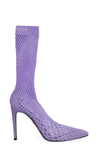 Pointed mesh ankle boots, Ankle Boots GCDS woman