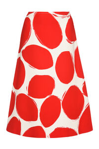 Printed crepe skirt, Printed skirts Marni woman